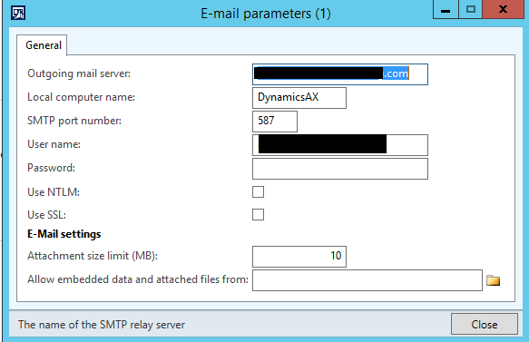 SMTP Relay for AX | Atomic AX